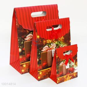 Unique Red Christmas Small Size Flap Bag Gift Bag