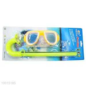 Wholesale Professional Orange Swimming Snorkel For Diving