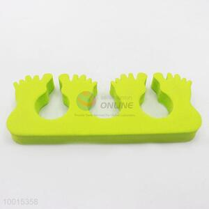 Wholesale Green Feet 1pc Soft Sponge Foam Finger Toe Separator Nail Tools