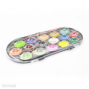 16-color Round Pigment Powder