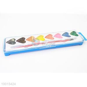 8-color Heart-shaped Pigment Powder