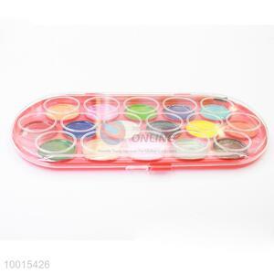 Wholesale 16-color Round Pigment Powder