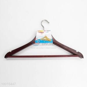 Aubergine Wooden Clothes Hanger