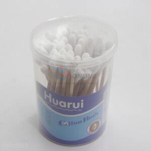 Sterile 100pcs wood cotton buds