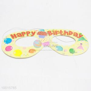 New 12pcs/bag Birthday Decoration Wholesale Paper Eyewear