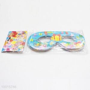 Wholesale 12pcs/bag Happy Birthday Decoration Paper Eyewear