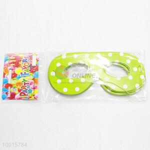 12pcs/bag Birthday Supplies Wholesale Point Green Paper Eyewear