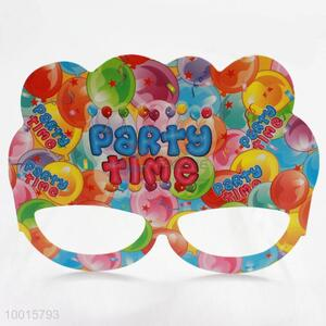 12pcs/bag Funny Cartoon Pattern Paper Eyewear Birthday Party Decoration