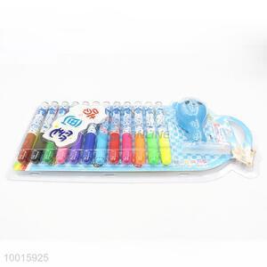 12-color Blow Color Pens