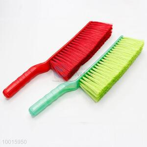 Low Price 34.5cm Red/Green Plastic Bed Brush Broom Brush