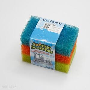 3pcs Sponge Scrubbers Set