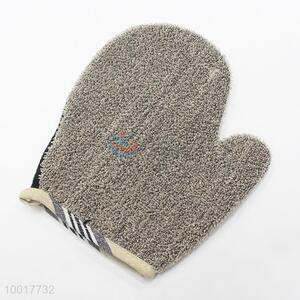 Bath brushes scrubbers jute exfoliating bath glove