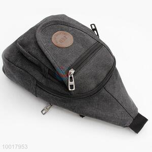 Canvas hiking chest bag
