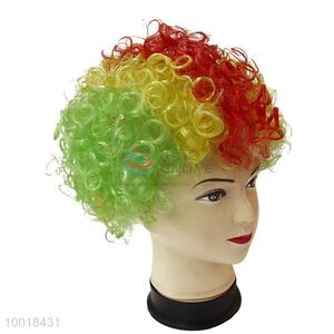 Competitive Price Football Fan Mix Color party Wig