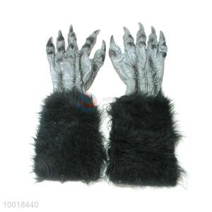 Wholesale Orangutan Glove For Halloween with Black Feather