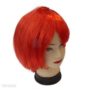 Hot Selling High Quality Red Fashion Wig For Halloween