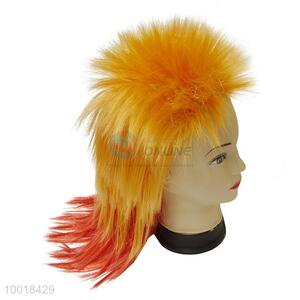 Wholesale Long Hair Mix Orange Wig For Party/Holiday/Festival