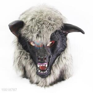 Wholesale Gray Wolf Head Soft Full Mask for Halloween