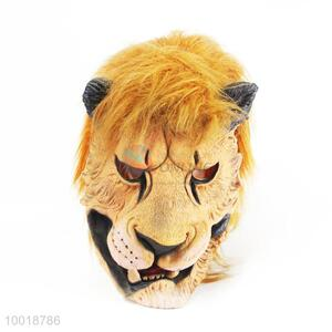 Wholesale Head of Leopard Soft Full Mask for Halloween