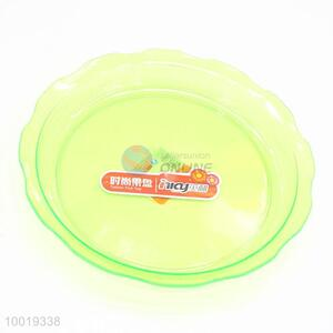 Household Clear Green Fruit Basket Plate