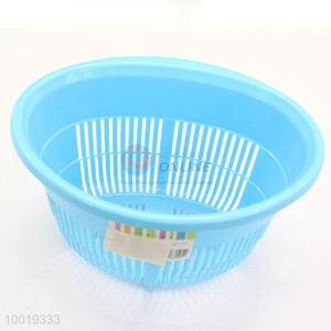 Kitchen Blue Fruits Vegetable Basket