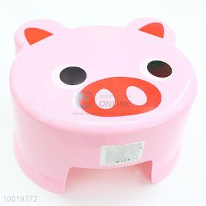 Plastic Cute Pig Plastic Seat Chair for Kids