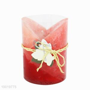 Red Delicate Gift Craft Candle as Gift/Home Decoration