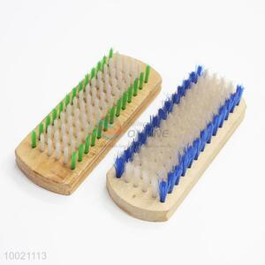 Wooden clothes scrub brush for daily use