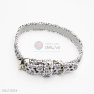 Hot Product Silver PU Pet Collor for Cats Dogs