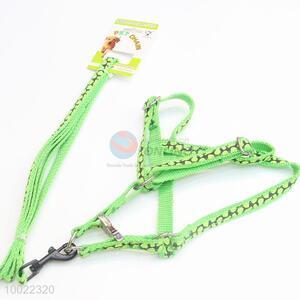Competitive Price Green Dog Leash/Dog Collar