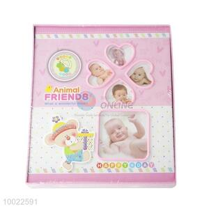 Pink Lovely Baby Cover Baby/Wedding Photo Album