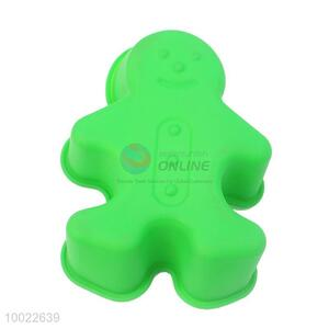 Snowman Shaped Silicone Cookies/Cake Mould