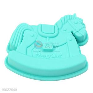 Hobbyhorse Shaped Silicone Cookies/Cake Mould