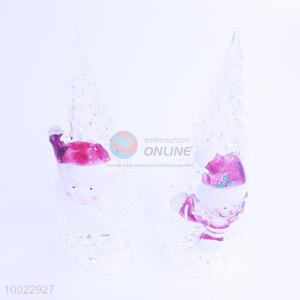 Wholesale Tree Shaped Christmas Crystal Ball with Light