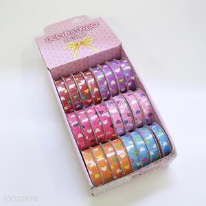 Love Hearts Pattern Adhesive Fabric Tape/Craft Ribbon