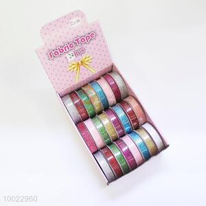 Colorful Adhesive Fabric Tape/Craft Ribbon