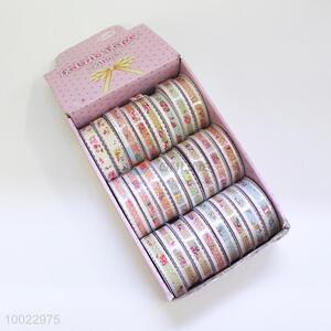 Printing Adhesive Fabric Tape/Craft Ribbon