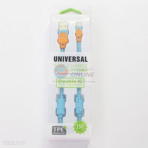 Universal Double IC Super Transmission Safe Charge USB Cable for iPhone 5S