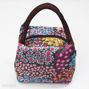 Floral Square Lunch Bag