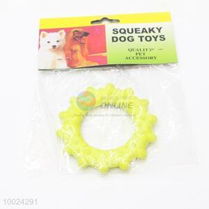 Yellow Sun Pet Toy