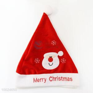 Red Christmas Hat with Merry Christmas Words