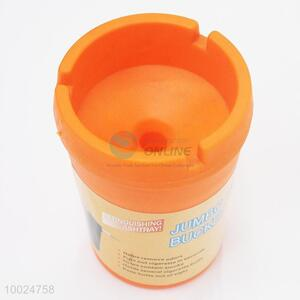 7.5*10.5cm Smoking Accessories Hot Sale Orange PP Ashtray