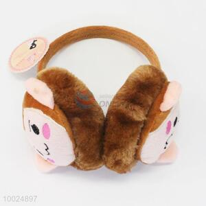Brown Monkey Face Winter Ear Protection Earmuff