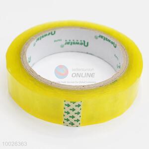 Yellowish high quality opp tape adhesive tape packing tape