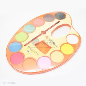 Good Quality 12-color Palette Set With Paint Brush