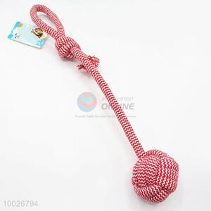 New arrivals ball with cotton rope pet toy