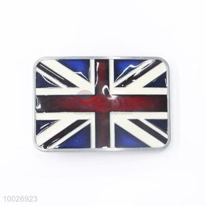 Zinc alloy Union flag belt buckle