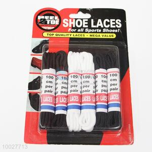 Nylon Shoelaces Set of 6 Pairs