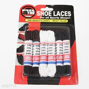 Nylon Shoelaces Set of 6 Pairs