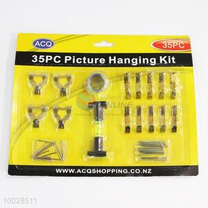 35PC Utility Picture Hanging Hooks with Wire